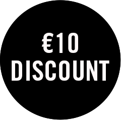 10 euro discount on your Unlimited subscription