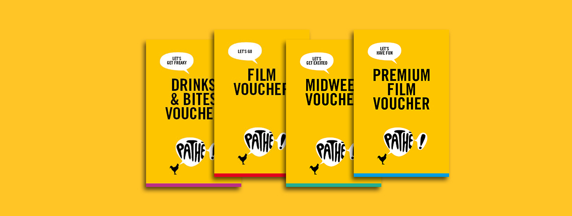 Pathé Vouchers Pathé