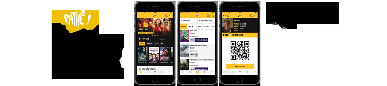 Pathé App: eenvoudig tickets kopen met je smartphone