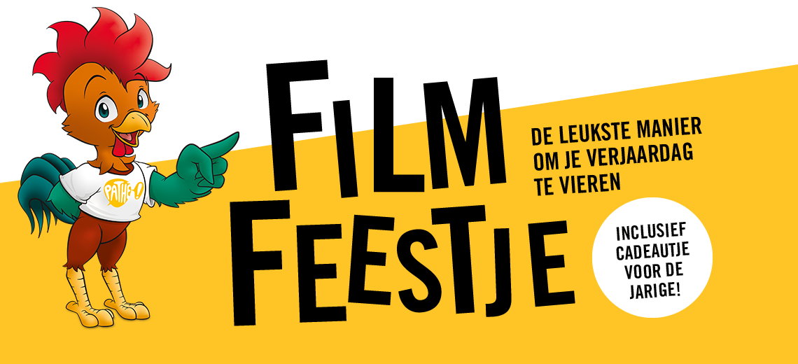 Pathé Filmfeestje: de leukste manier om je verjaardag te vieren!