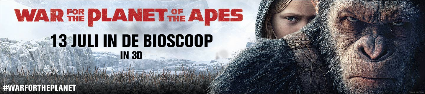 War for the Planet of the Apes - Quiz & Winactie