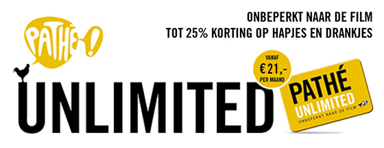 5d31f16aa2e Onbeperkt naar de film met het Pathé Unlimited abonnement! | Pathé