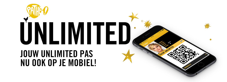 Nog meer gemak! De Pathé Unlimited Pas nu ook op je mobiel!