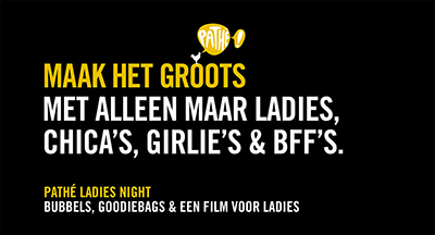 Ladies Night Deluxe goodiebag