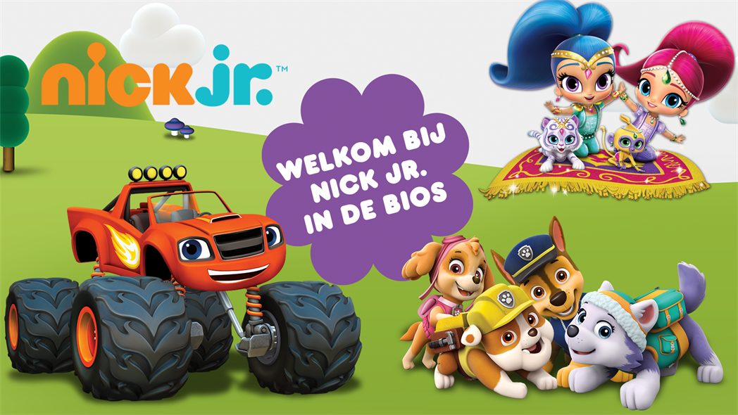 Nick Jr. in de Bios
