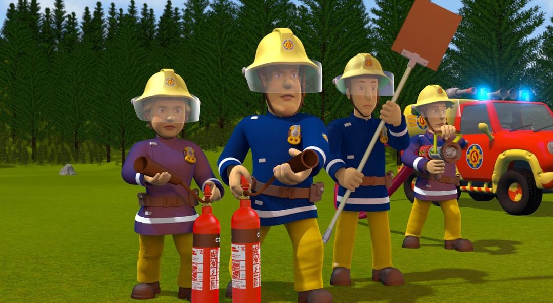 Brandweerman Sam – Klaar voor actie!
