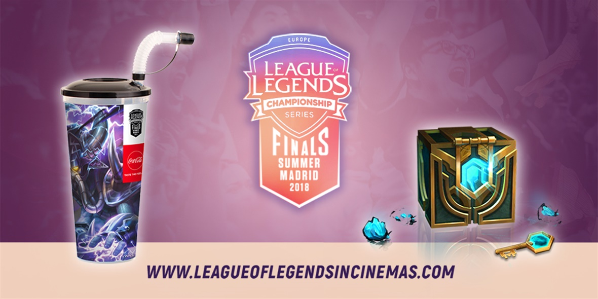 League of Legends EU Summer Finals Madrid 2018
