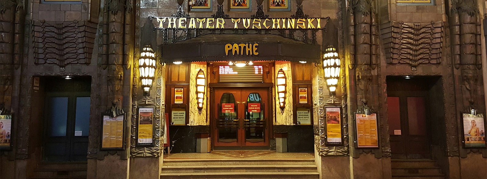 path tuschinski amsterdam path