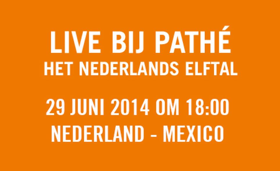 WK 2014: Nederland - Mexico