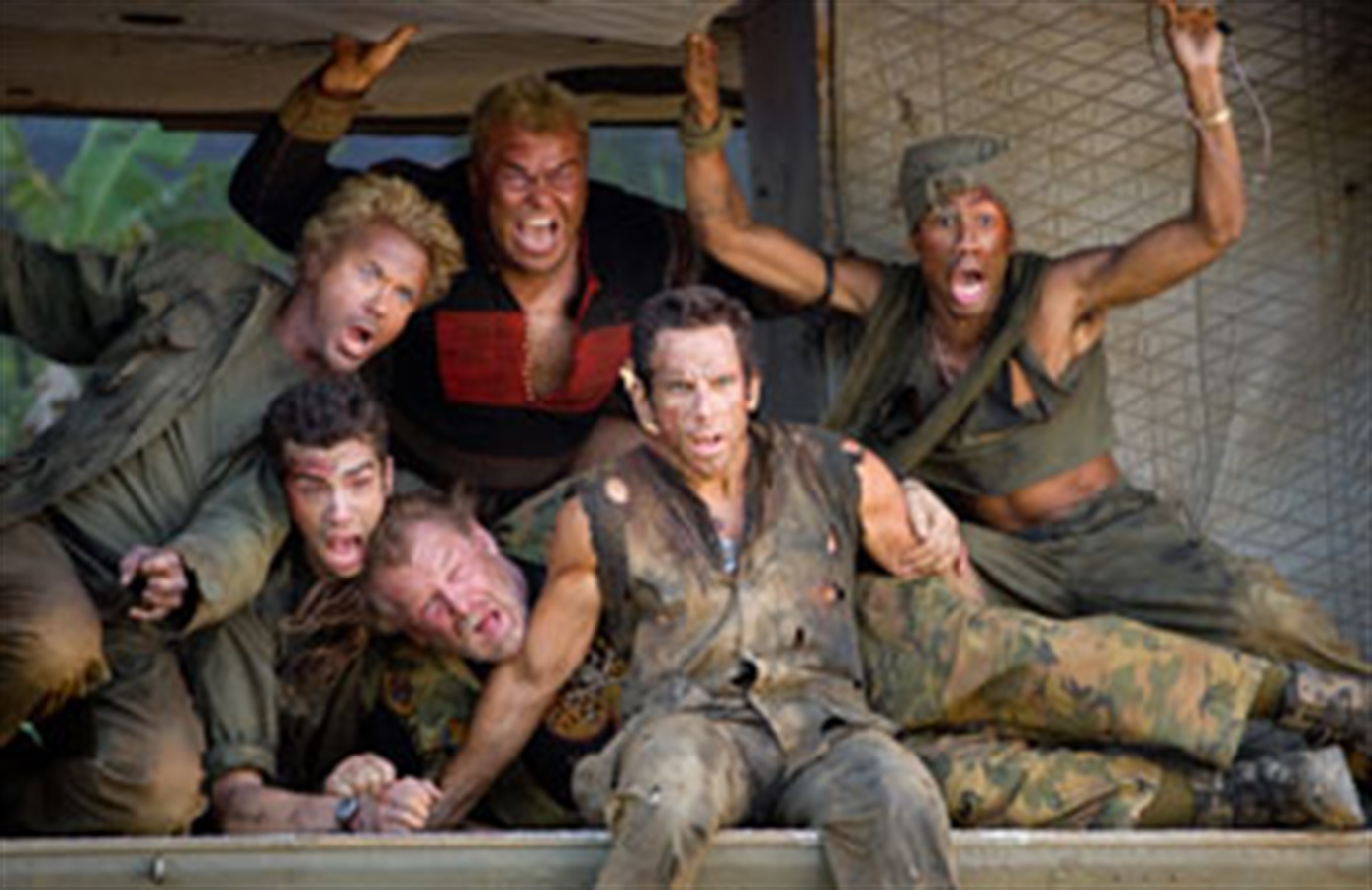 Tropic Thunder -Trailer, reviews & meer - Pathé