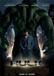 Filmposter The Incredible Hulk