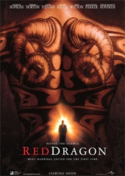 Filmposter Red Dragon