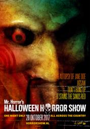 poster Halloween Horror Show - 2017