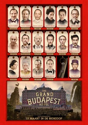 Filmposter The Grand Budapest Hotel