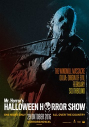 poster Halloween Horror Show - 2016