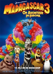 Madagascar 3: Op avontuur in Europa 3D (NL)