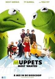 Filmposter Muppets Most Wanted (NL)