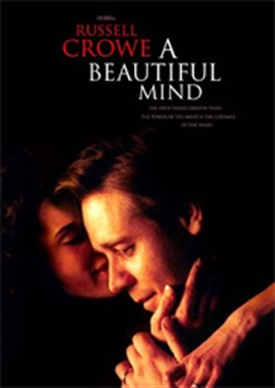 a review of a beautiful mind In the movie a beautiful mind, hollywood took nash's remarkable story of  mathematics and schizophrenia and fashioned an unlikely hero from.