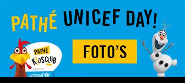 Foto's Pathé Buitenhof unicef event