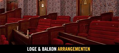 Loge en Balkon Arrangementen