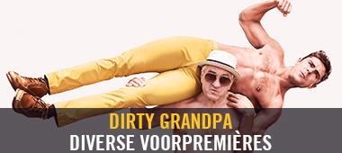 Dirty Grandpa voorpremières