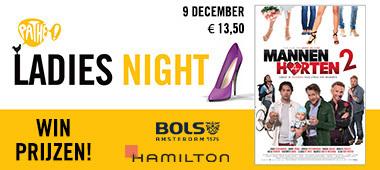 Actie Ladies Night en Mannenharten 2