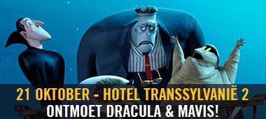 Meet & Greet Dracula & Mavis