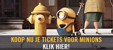 Minions - koop nu je tickets!