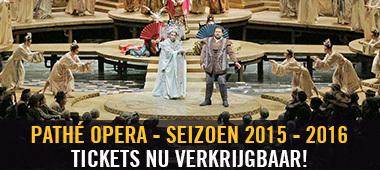 Pathé Opera - tickets seizoen 2015-2016