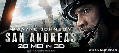 San Andreas - prijsvraag & tickets