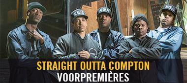 Straight Outta Compton - voorpremières