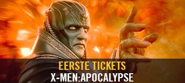 Eerste Tickets X-Men: Apocalypse
