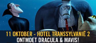 HOTEL TRANSSYLVANIË 2 - ONTMOET DRACULA & MAVIS!