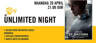 Unlimited Night - 20 april