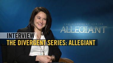 The Divergent Series: Allegiant - interview