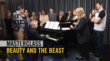 Beauty and the Beast - Masterclass Alan Menken met Luke Evans en Josh Gad