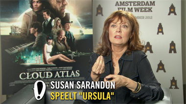 Cloud Atlas - interview: Susan Sarandon