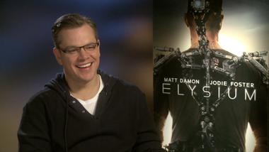 Elysium - interviews: Neill Blomkamp, Matt Damon, Sharlto Copley