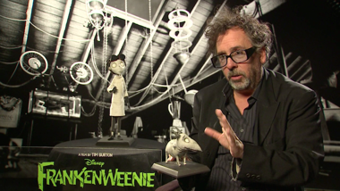 Frankenweenie - Interview Tim Burton, Catherine O'Hara, Martin Short