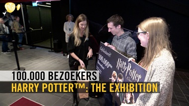 Harry Potter™: The Exhibition - 100.000 bezoekers