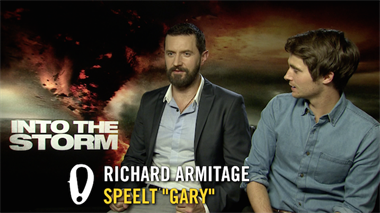 Into The Storm - interview