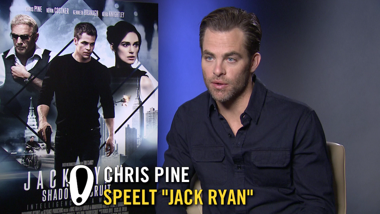 Jack Ryan: Shadow Recruit - interview Chris Pine, Kenneth Branagh