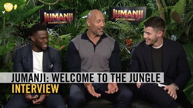 Jumanji: Welcome to the Jungle - interview