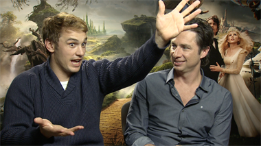 Oz: The Great and Powerful - Interview James Franco, Zach Braff, Mila Kunis, Sam Raimi