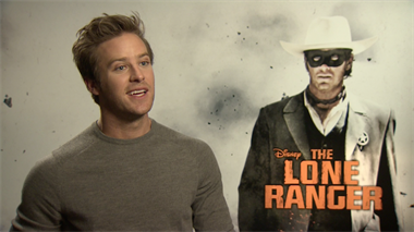 The Lone Ranger - interviews
