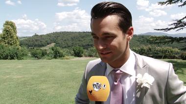 Toscaanse Bruiloft - setbezoek