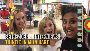 Tuintje In Mijn Hart - Setbezoek + Interviews
