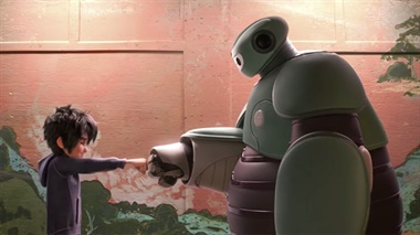 Big Hero 6 - handshake