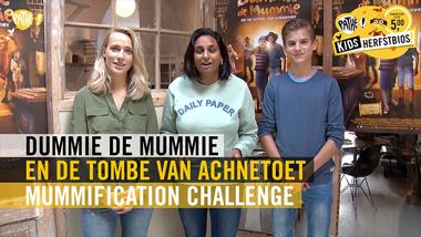 Dummie de Mummie en de Tombe van Achnetoet - challenge
