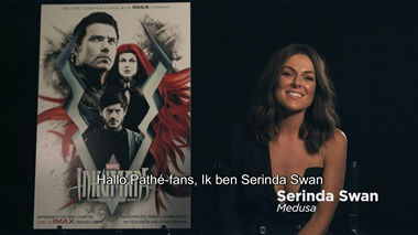Inhumans - IMAX clipje Medusa (Serinda Swan)